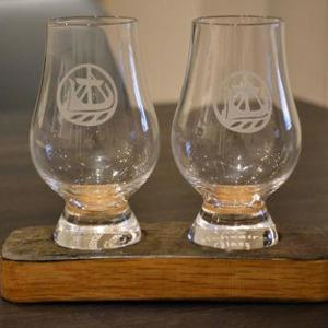 Whisky Glass Stand - for Two