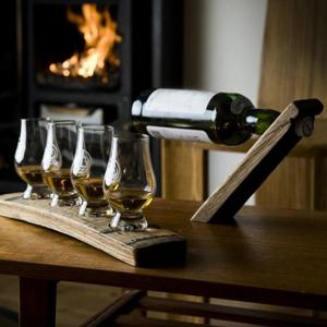 Whisky Glass Stand - for Four